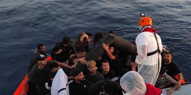 İzmir'de 51 düzensiz göçmen kurtarıldı