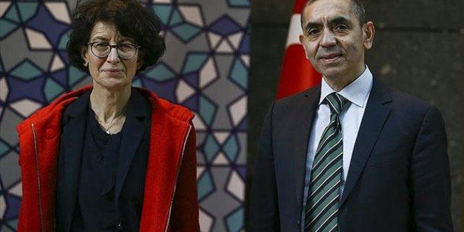 Uğur Şahin ve Özlem Türeci'ye İspanya'da büyük ödül