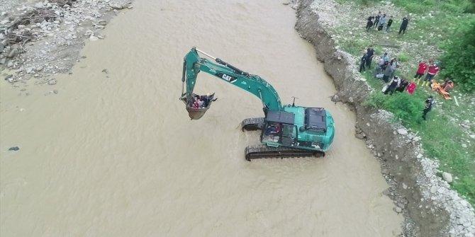 Düzce'de meydana gelen selde kurtarma çalışmaları sona erdi