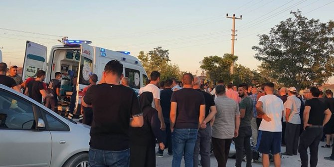 Konya'daki trafik kazasında 2 kişi ağır yaralandı
