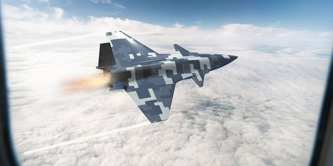 Turkish defense firm releases images of unmanned combat aircraft