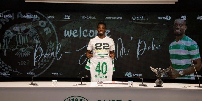 Konyaspor, Paul Jose Mpoku ile anlaşma imzaladı