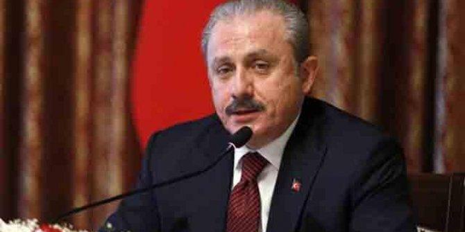 TBMM Başkanı Mustafa Şentop'tan sel açıklaması