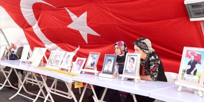Sit-in protest families against PKK in Turkey yearn to reunite with children during Eid al-Adha holiday
