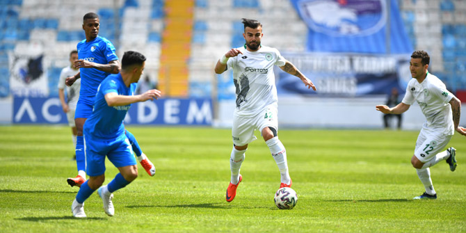 Konyaspor'un rakibi Erzurumspor! İşte yeşil beyazlıların ilk 11'i