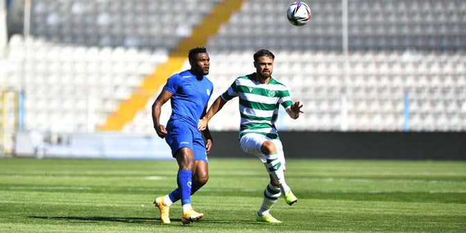 Konyaspor hazırlık maçında güldü; 2-1
