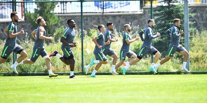 Konyaspor'da tempo arttı