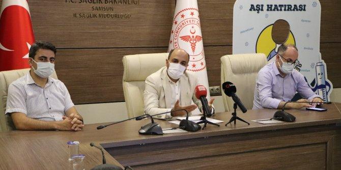 Samsun'da korona aşısı olana hediye