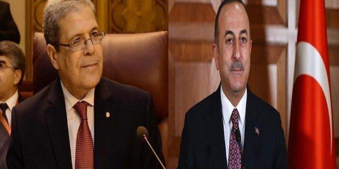 Tunisie: Othman Jerandi s'entretient avec son homologue turc Cavusoglu