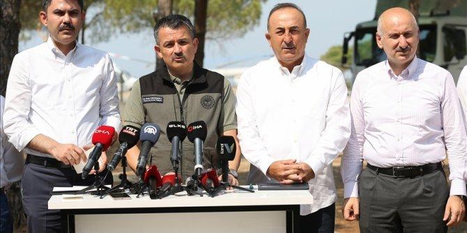 Turski ministar Pakdemirli: Situacija ide ka boljem u pojedinim područjima zahvaćenim požarima