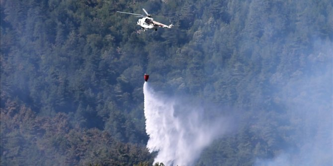 57 forest fires across Turkey under control: Official