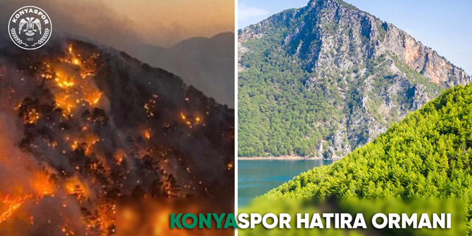 Manavgat'a Konyaspor Hatıra Ormanı oluşturulacak