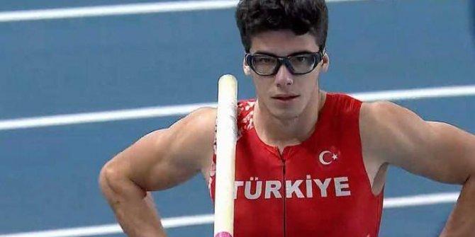 Milli sırıkçı olimpiyatta finale kaldı