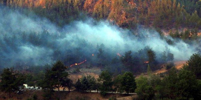 Adana'nın 4 ilçesindeki yangınlar 72 saatte söndürüldü