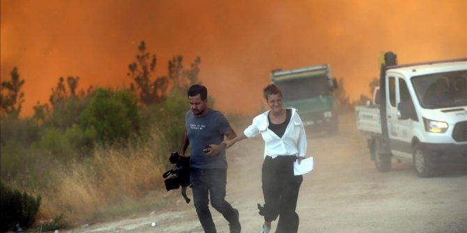 Požari u Turskoj: Plamen u Manavgatu zahvatio lokaciju na kojoj su bili i novinari