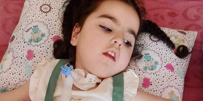SMA hastası Ebrar yardım bekliyor
