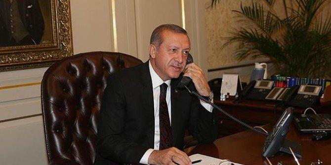 İran Cumhurbaşkanı Reisi ile Cumhurbaşkanı Erdoğan telefonda görüştü