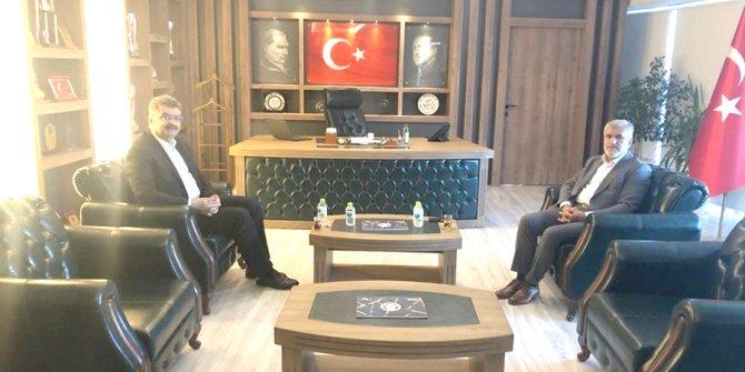 Milletvekili Erdem'den  Başkan Ünver'e ziyaret