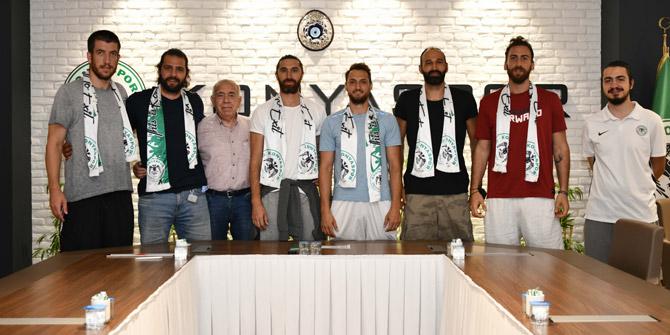 Konyaspor Basketbol'da ilk imzalar atıldı