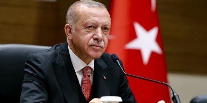 Cumhurbaşkanı Erdoğan'dan, şehit polis memurunun ailesine başsağlığı mesajı