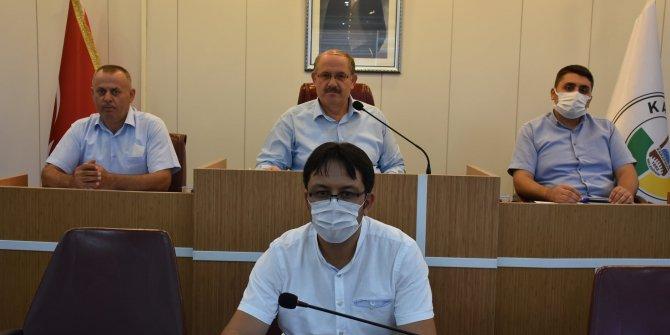 Karapınar'da meclis  toplantısı yapıldı
