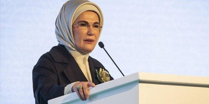 Emine Erdoğan: Ülkemizin birlik ve beraberliği bunun da üstesinden gelecek