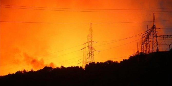 """Feux de forêts/Turquie:""""Les citoyens présents dans la centrale thermique ont été évacués"""""""
