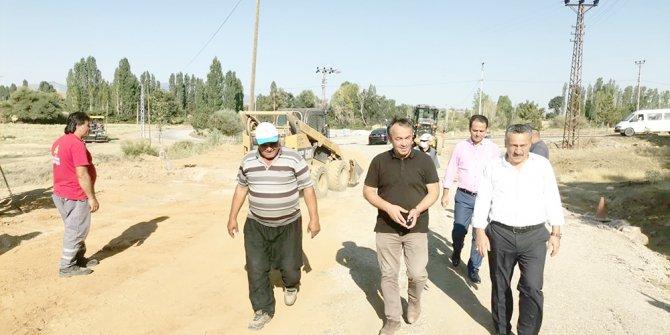 Seydişehir'de hummalı  çalışma devam ediyor