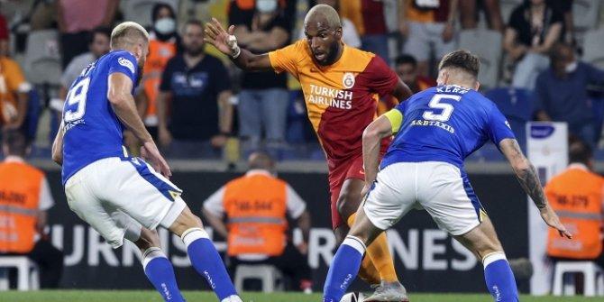 Galatasaray ilk ayakta berabere