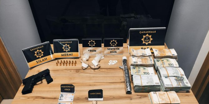 Uyuşturucuya 18 tutuklama; 503 bin euro ele geçirildi