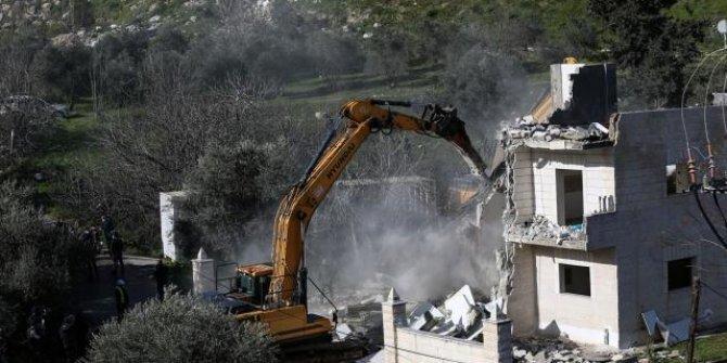 İsrail 1 Ocak'tan beri Doğu Kudüs'te Filistinlilere ait 81 binayı yıktı