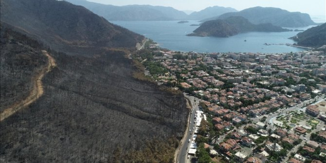 Turska: Snimci iz zraka svjedoče o razmjerama požara u Marmarisu