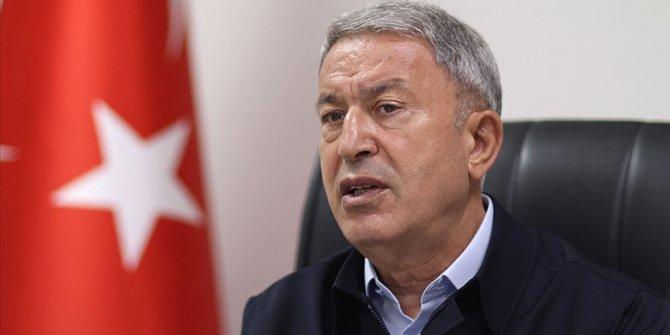 Bakan Akar: Mehmetçiği tehlikeye atmak gibi durumumuz söz konusu olamaz