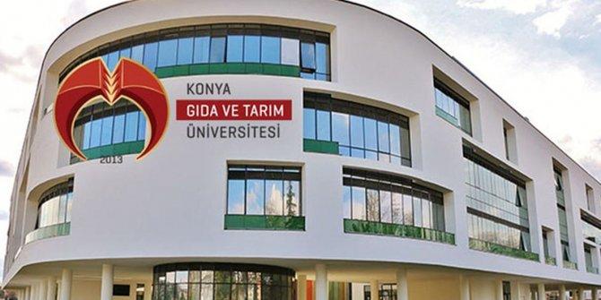 Konya Gıda ve Tarım Üniversitesi Öğretim Üyesi ve Öğretim Görevlisi alıyor