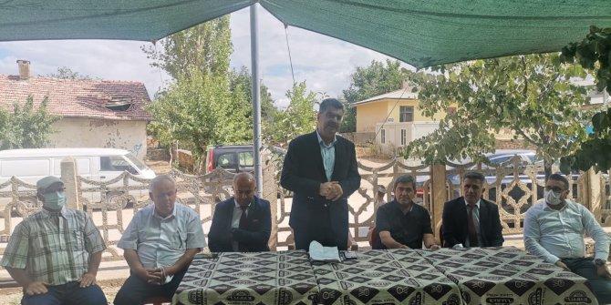 Milletvekili Erdem'den  Bozkır'a ziyaret