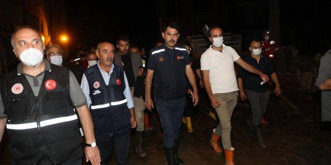 Bakan Soylu: Gördüğüm en ağır sel felaketi burası