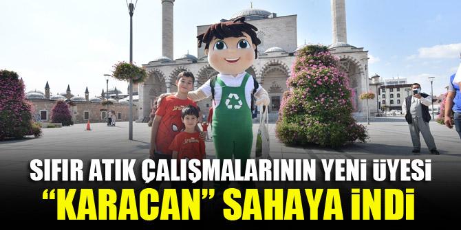"""Sıfır atık çalışmalarının yeni üyesi """"Karacan"""" sahaya indi"""