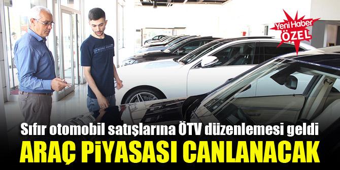 Sıfır otomobil satışlarına ÖTV düzenlemesi geldi, araç piyasası canlanacak