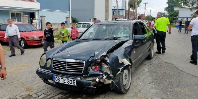 Kaza :1 yaralı