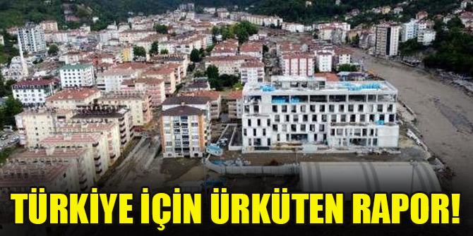 Türkiye için ürküten rapor!