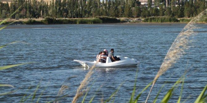 Ulaş Gölü piknikçilerin uğrak yeri oldu