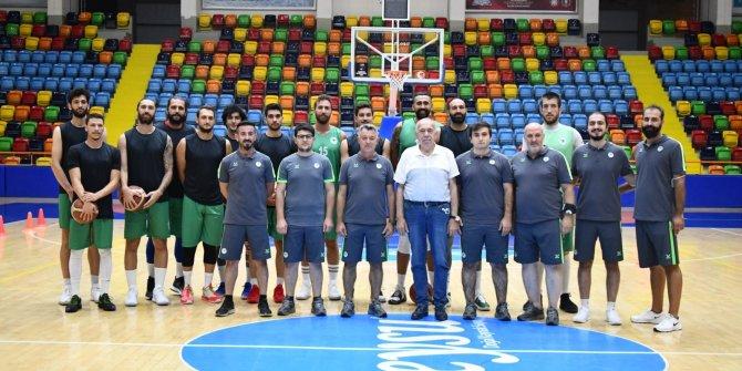 Konyaspor Basket, Ankara'da kampa girecek