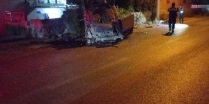 Konya'da iki kamyonet çarpıştı:1 ölü