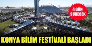 8. Konya Bilim Festivali başladı