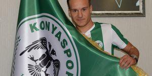Konyaspor'un yeni transferi Deni Milosevic çok mutlu