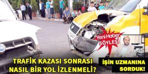 Kazayı mutlaka belgeleyin!