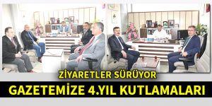 BYEGM Konya ve Şehir Koleji'nden gazetemize 4.yıl kutlaması