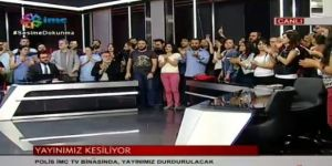 Terör propagandası yapan İMC TV'ye mühür
