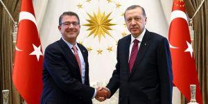 Cumhurbaşkanı Erdoğan Carter'ı kabul etti