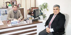 Başkan Özgüven'den gazetemize ziyaret